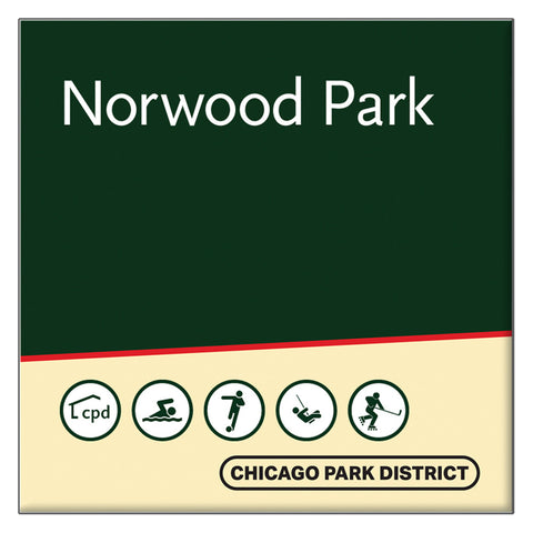 Norwood Park Square Magnet Chicago Park District