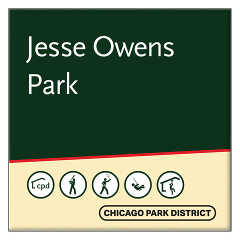 Owens (Jesse) Park Square Magnet Chicago Park District