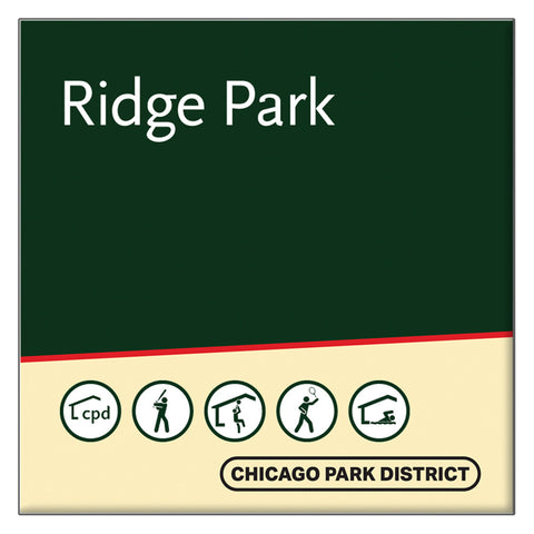 Ridge Park Square Magnet Chicago Park District