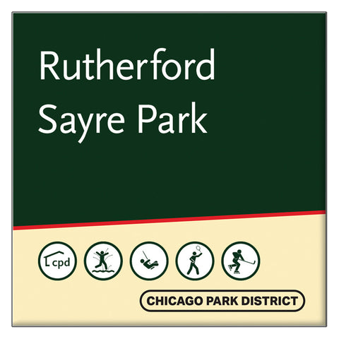 Rutherford Sayre Park Square Magnet Chicago Park District