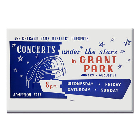 Concerts Under the Stars Magnets Chicago Park District