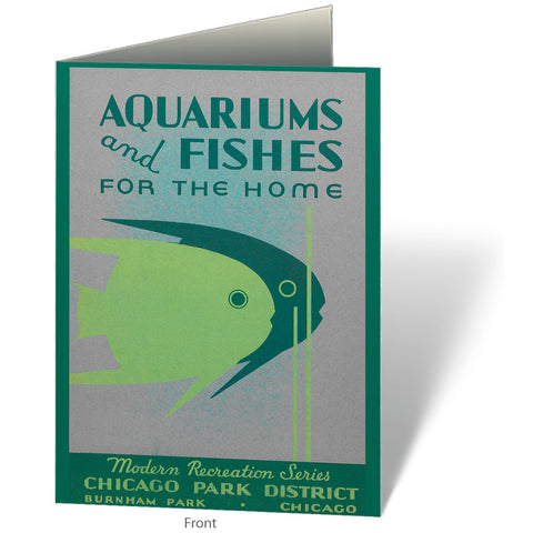 Aquariums & Fish Notecard Chicago Park District