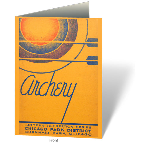 Archery Notecard Chicago Park District