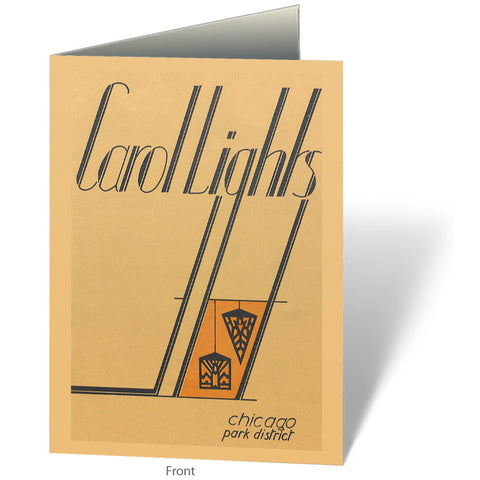 Carol Lights Notecard Chicago Park District
