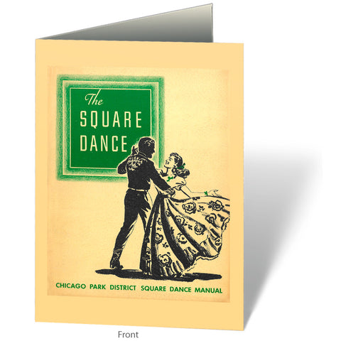 The Square Dance Notecard Chicago Park District