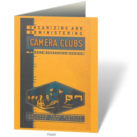 Camera Clubs Notecard Chicago Park District