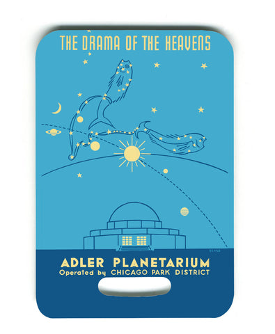 Adler Planetarium Luggage Tag Chicago Park District