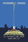 Buckingham Fountain Print Chicago Park District