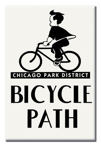 Bicycle Path Magnet Chicago Park District