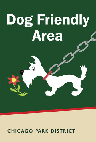 Dog Friendly Area Print Chicago Park District