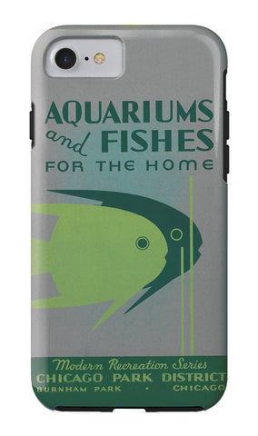 Aquariums and Fishes iPhone Case Chicago Park District