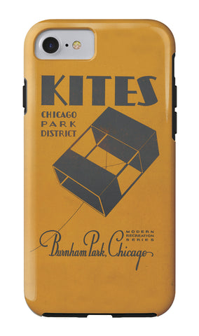 Kites iPhone Case Chicago Park District