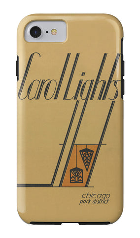 Carol Lights iPhone Case Chicago Park District