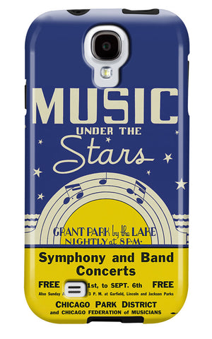 Music Under the Stars Galaxy Case Chicago Park District