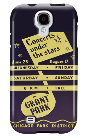 Concerts Under the Stars Galaxy Case Chicago Park District