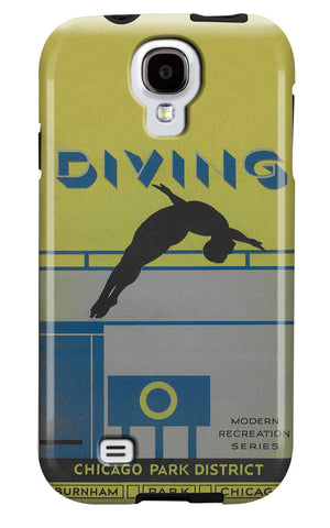 Diving Galaxy Case Chicago Park District