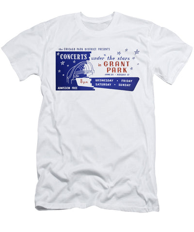 Concerts Under the Stars T-Shirt Chicago Park District