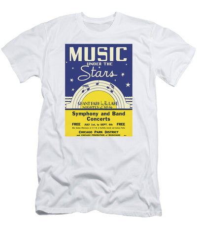 Music Under the Stars T-Shirt Chicago Park District