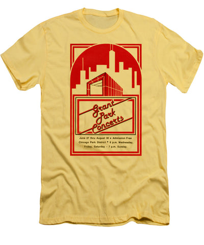 Grant Park Concerts 1981 T-Shirt Chicago Park District