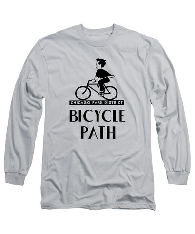 Bike Path (Long Sleeve) T-Shirt Chicago Park District