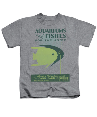 Aquariums and Fishes Youth T-Shirt Chicago Park District