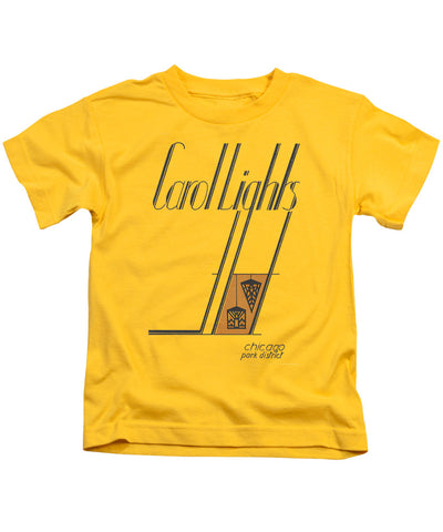 Carol Lights Youth T-Shirt Chicago Park District