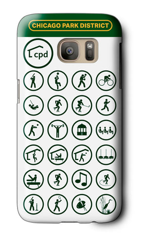 Pictograms Galaxy Case Chicago Park District