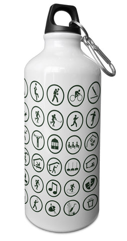 Pictograms Water Bottle Chicago Park District