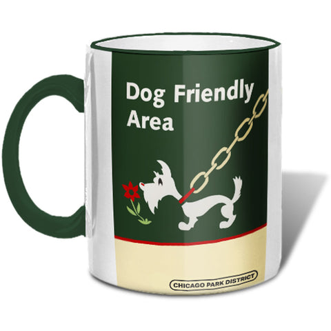 Dog Friendly Area Mugs