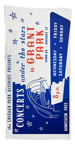 Concerts Under the Stars Towel