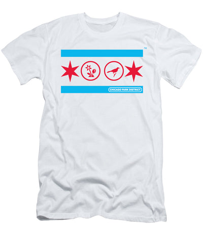 Chicago Flag (Gardens & Birding) T-Shirt