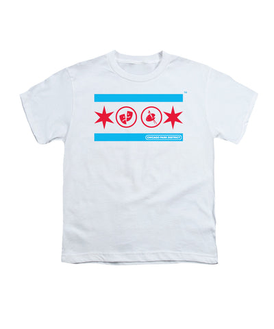 Chicago Flag (Drama & Art) Youth T-Shirt