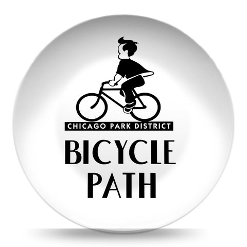 Bicycle Path Resin Plate
