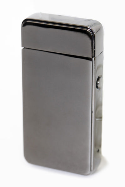 THE USB LIGHTER CO. BLACK GUNMETAL RECHARGABLE LIGHTER