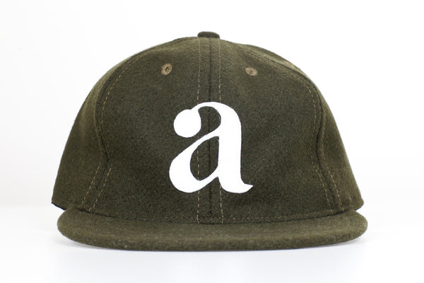 "UTILITY GOODS FOR ARGOT ""LOWER CASE"" WOOL CAP (OLIVE)"