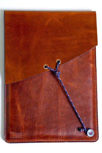 MIANSAI iPAD MINI LEATHER CASE BROWN