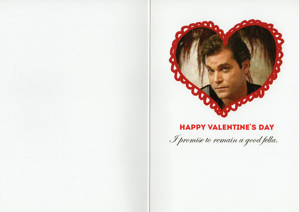 "ARGOT GOODFELLA ""VALENTIMEZ DAY"" CARD"
