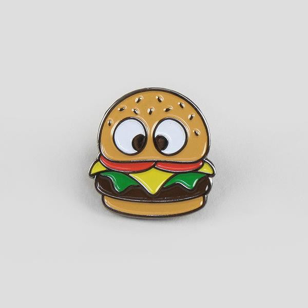 Hungry Eyes NY Burger Pin