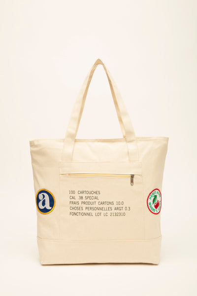 "ARGOT ""YOUR'S & MINE"" TOTE BAG"