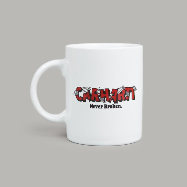 "CARHARTT WIP COFFEE MUG ""NEVER BROKEN"""