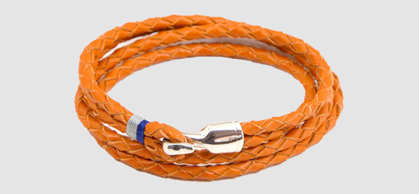 Miansai Trice bracelet orange