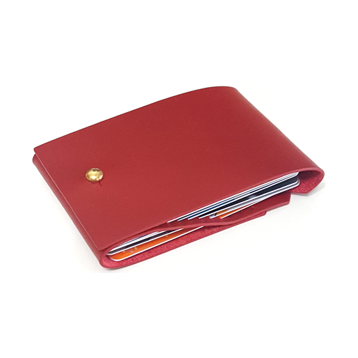 OPEN JAW CARD WALLET RED