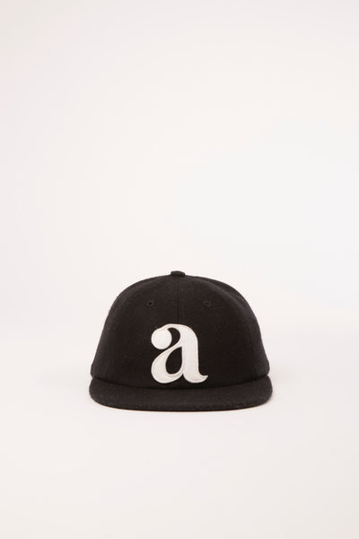 ARGOT LOWER CASE CAP - BLACK WOOL