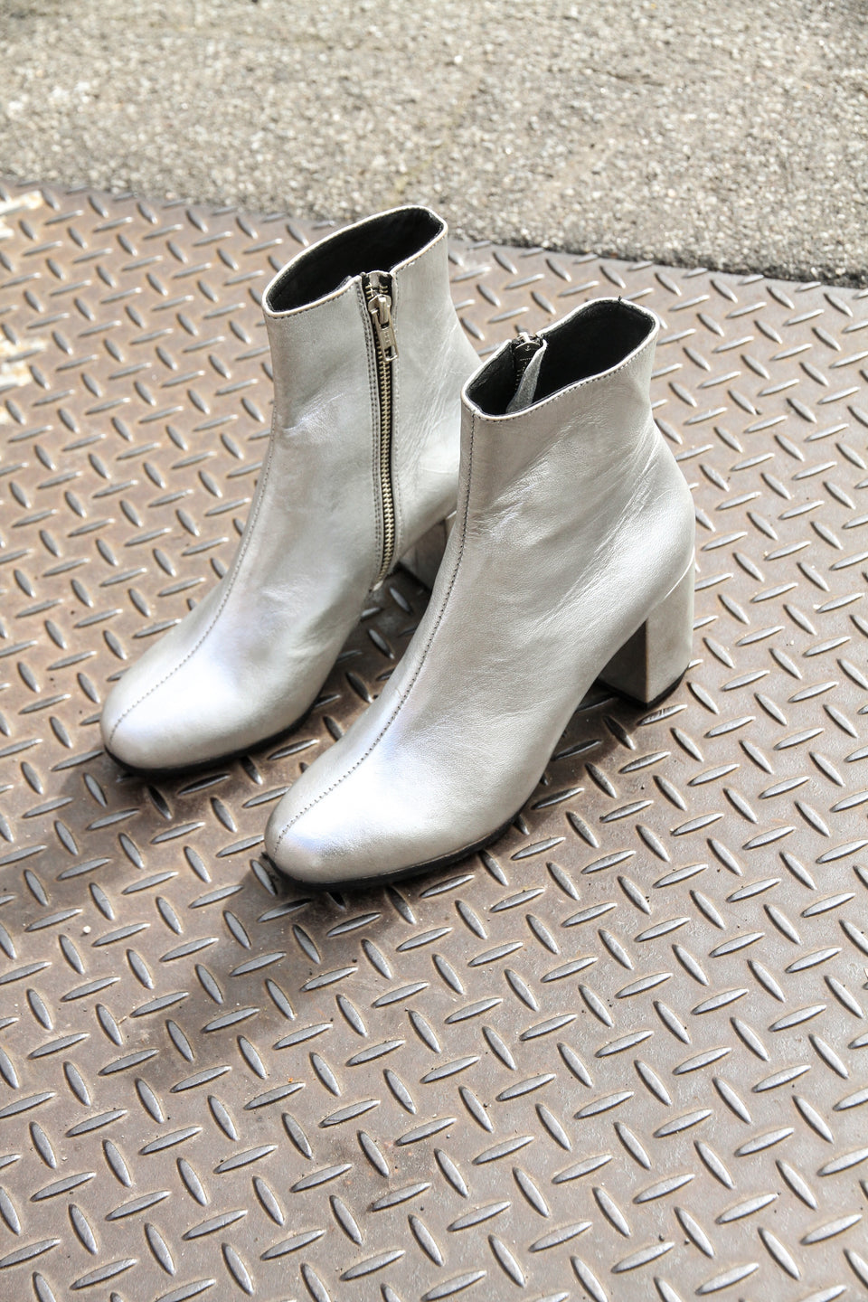 MOD BOOT - SILVER