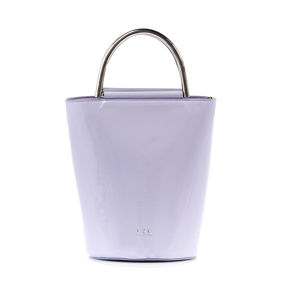 Bucket Bag Lavender Patent