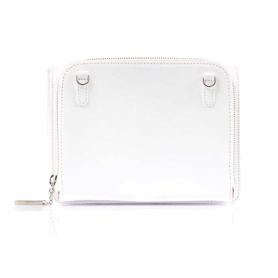 Double Bag White Patent