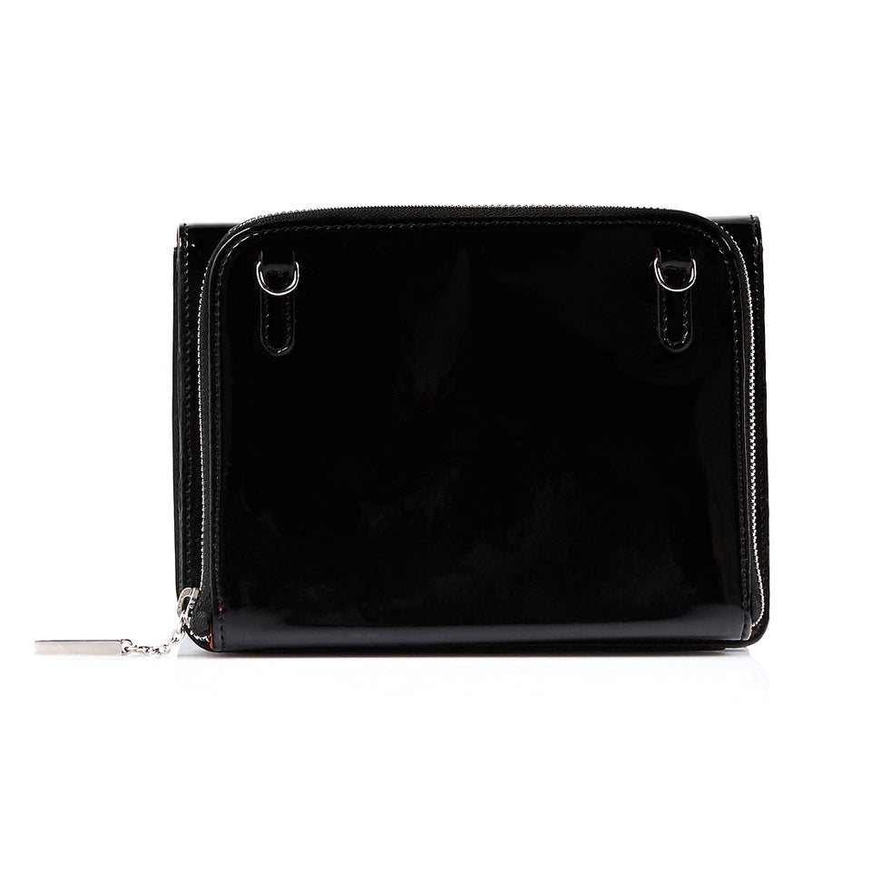 Double Bag Black Patent