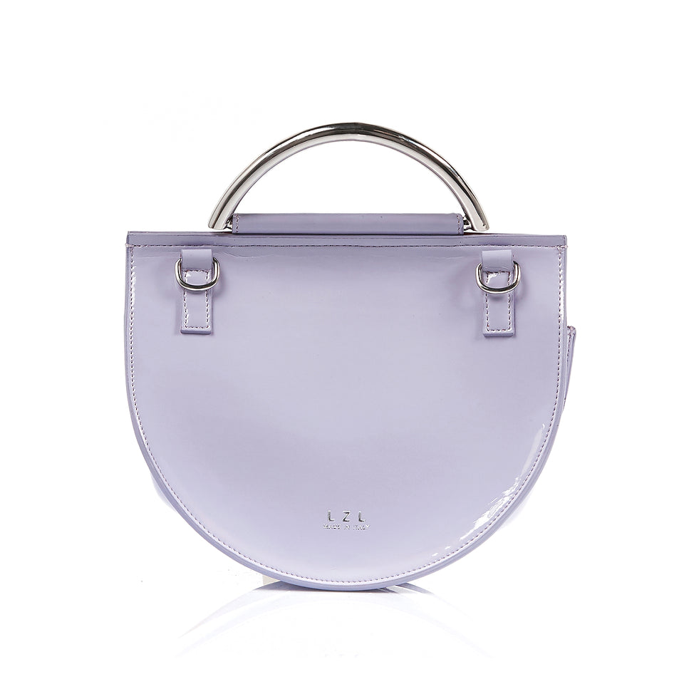 Saddle Bag Lavender Patent