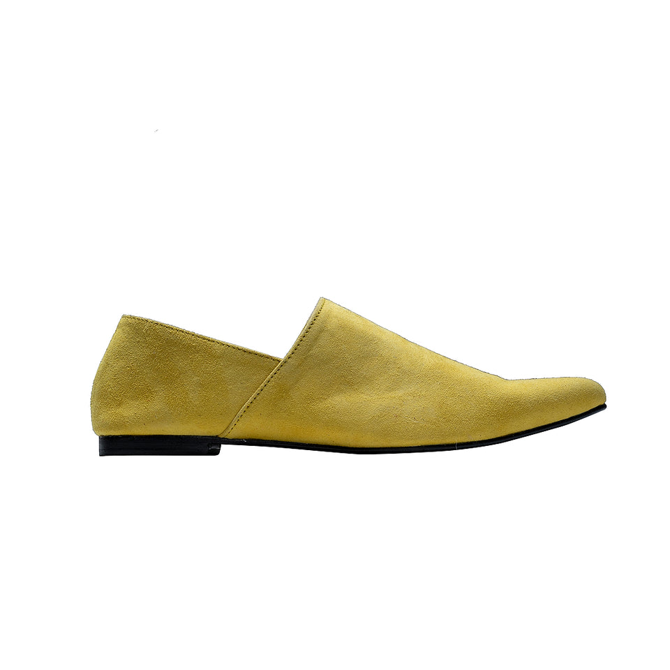 Moroccan Slipper - Yellow