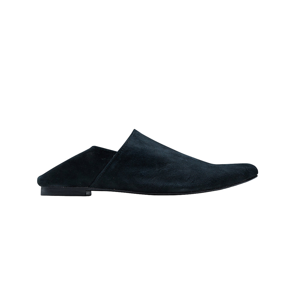 Moroccan Slipper - Black